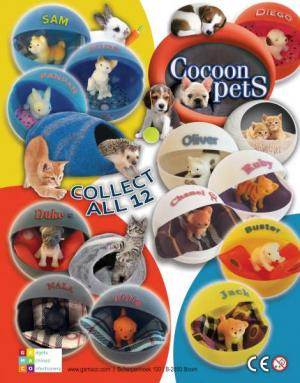 Cocoon pets_ animaux _capsules cocoon _Puppy Club_ Puppy Palz