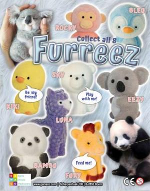Furreez_ Figurines velours_ flocking animals_capsules