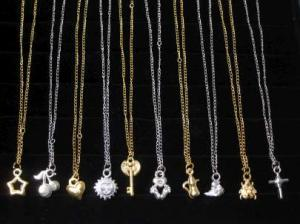 Necklace mix Gold or Silver
