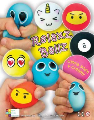 Relax balls_Stress Bälle_Kapseln